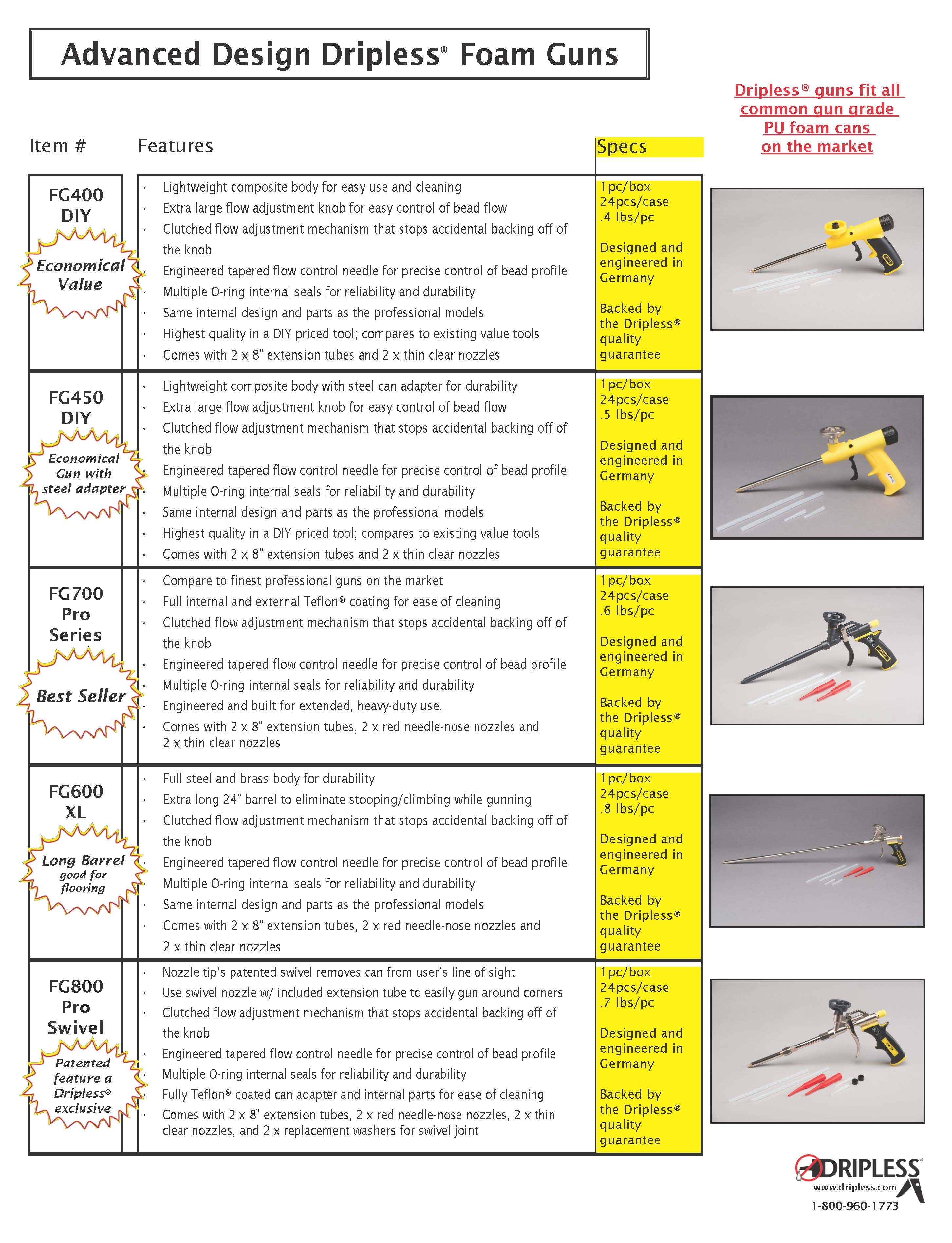 Five foam gun sales sheet.jpg